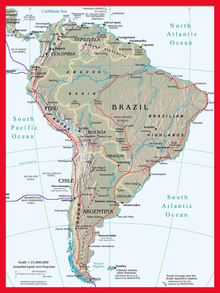 Best Map America Ideas On Pinterest America State Map Map - Central america physical map 2007