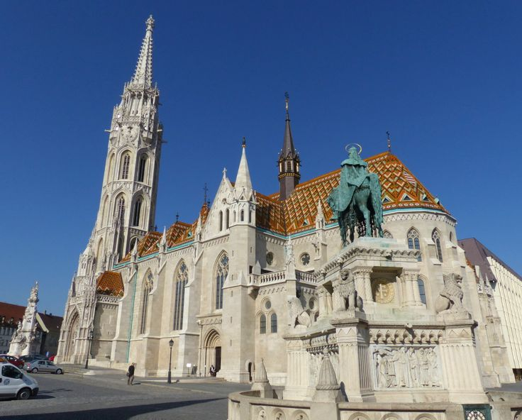 St. Matthias Church in Budapest (March 2014) - Photo taken by BradJill