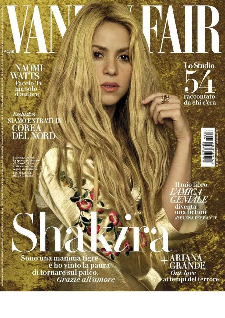#Issue, #Magazine, #Shakira, #VanityFair Shakira - Vanity Fair Magazine Italy June 2017 Issue | Celebrity Uncensored! Read more: http://celxxx.com/2017/06/shakira-vanity-fair-magazine-italy-june-2017-issue/
