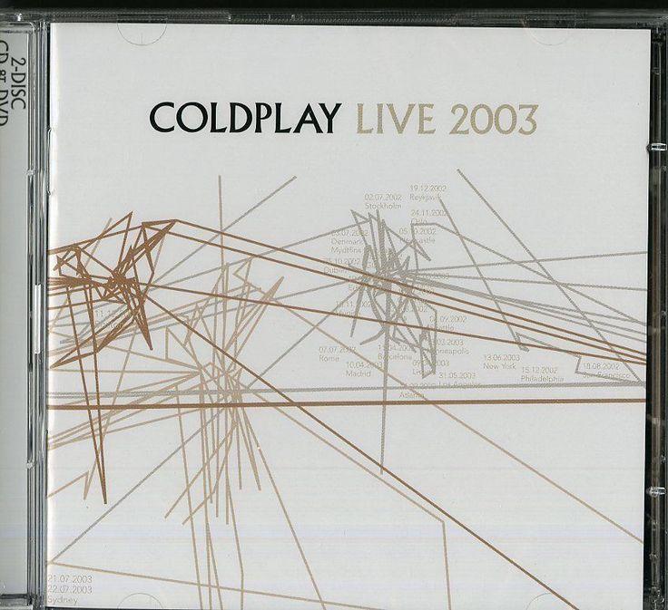 COLDPLAY - LIVE 2003 -  CD + DVD  NUOVO SIGILLATO