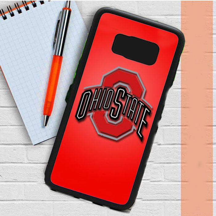 Ohio State Buckeyes Red Samsung Galaxy S8 Plus Case Casefreed