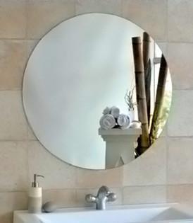 Mirror in Main Bath