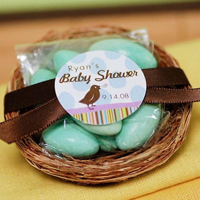 So Adorable, Baby Shower Favor Bird Nest   LOVE! Https://www