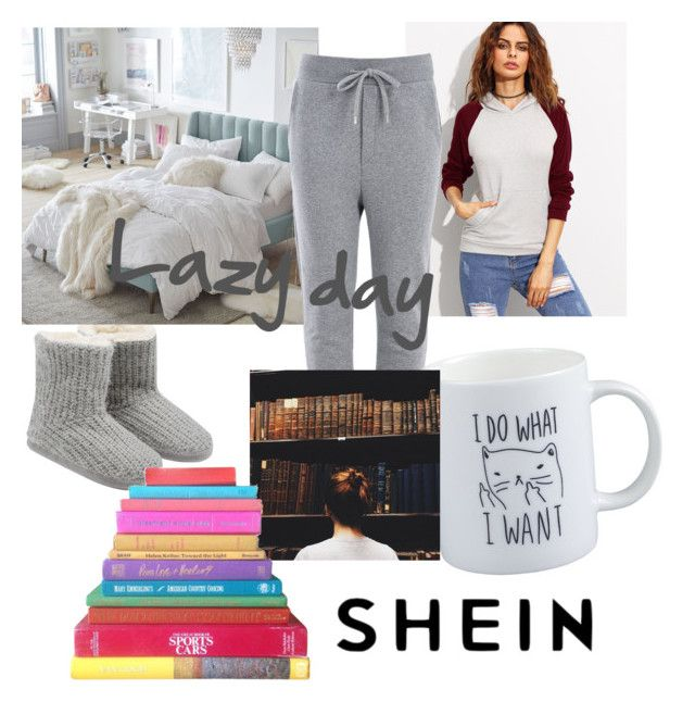 """Lazy day outfit"" by drumeaclementina on Polyvore featuring M&Co, PBteen, Love Moschino and LazyDay"