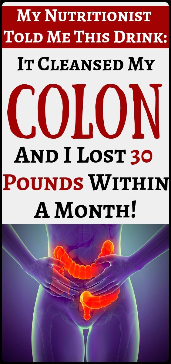 Cleanse your colon and lose 30 pounds within a month! – Sissy Calzada