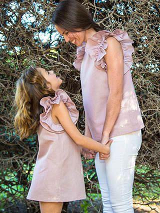 Mini me | Colección Primavera Verano 2016 by love adrienne - Blog - moda mini me 2016 | madre e hija