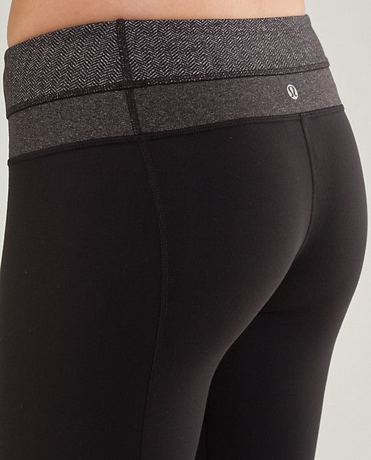 Lululemon groove pants make your butt look so nice :) btw, great workout cloths. hehe