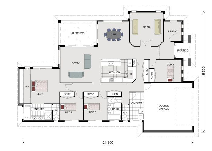 Bedarra 259, Our Designs, South Australia Builder, GJ Gardner Homes South Australia