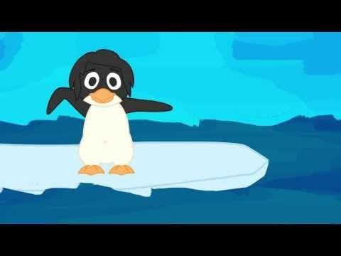 5 Pinguine - Kinderlieder deutsch zum Mitsingen von abclieder - YouTube very cute! good for beginning counting, animals