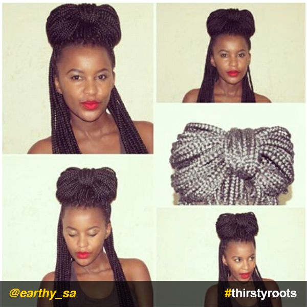 Turn your hair into a bow hairstyle without having to use accessories like headbands, scarves, and ribbons.