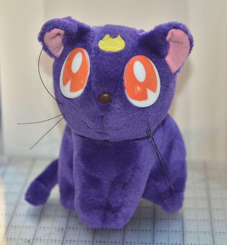 Sailor Moon Luna stuffed plush toy Irwin 1998 #Irwin