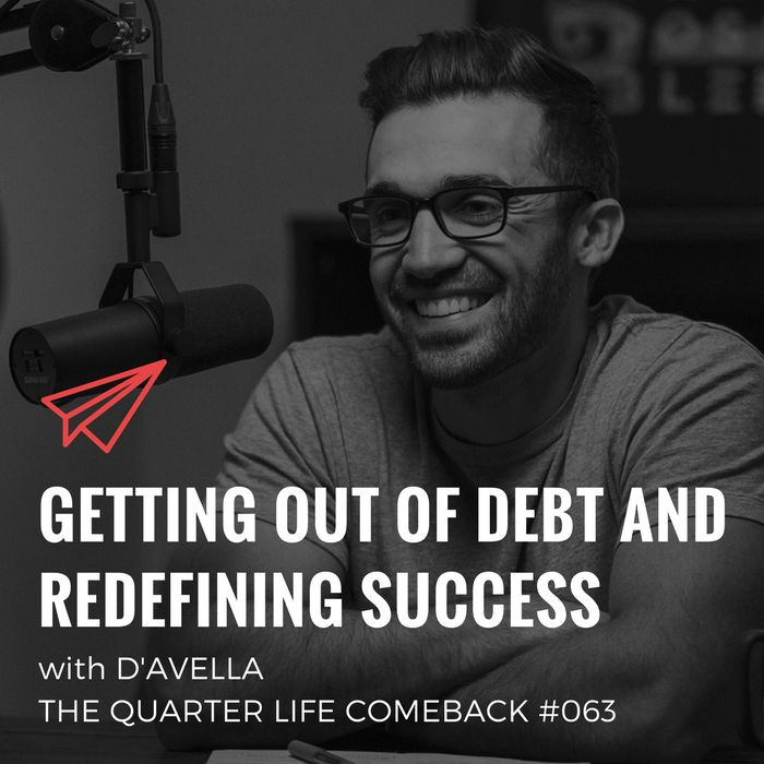 In this episode of The Quarter Life Comeback podcast, I chat to Matt D'Avella about getting out of debt, discovering minimalism and achieving major life goals.  Get the full show notes at http://bryanteare.com/debt-success-matt-davella