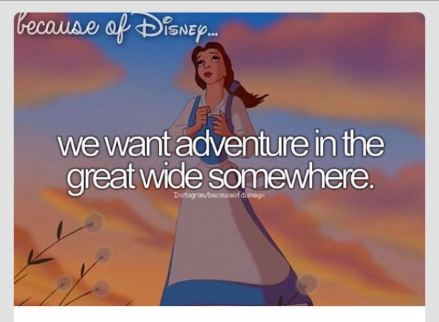 Because of disney, that's why.