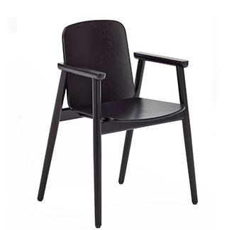 Prop Armchair. Made in Poland, European beech timber bentwood chair.