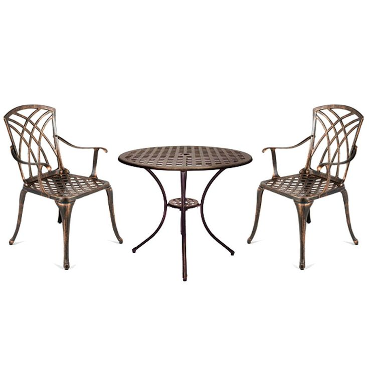 Buy Ellister Stamford Cast Aluminium 2 Armchair 70cm Round Outdoor Set at  Guaranteed Cheapest Prices with. 25  Best Ideas about Cast Aluminium Garden Furniture on Pinterest