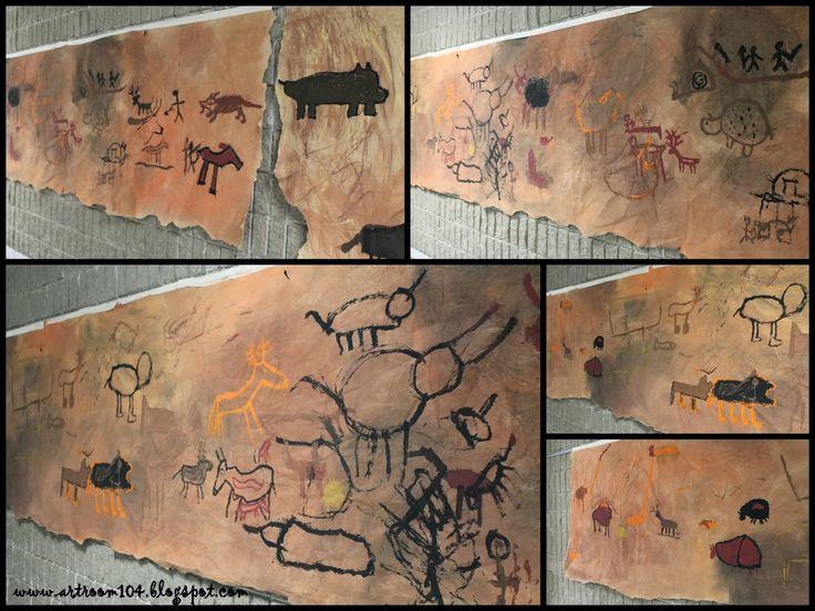 Caveman Art Ks2 : Images about stone age bone on pinterest