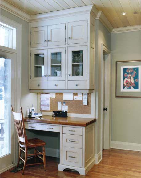 Best 25 kitchen built ins ideas on pinterest built ins for Kitchen office nook