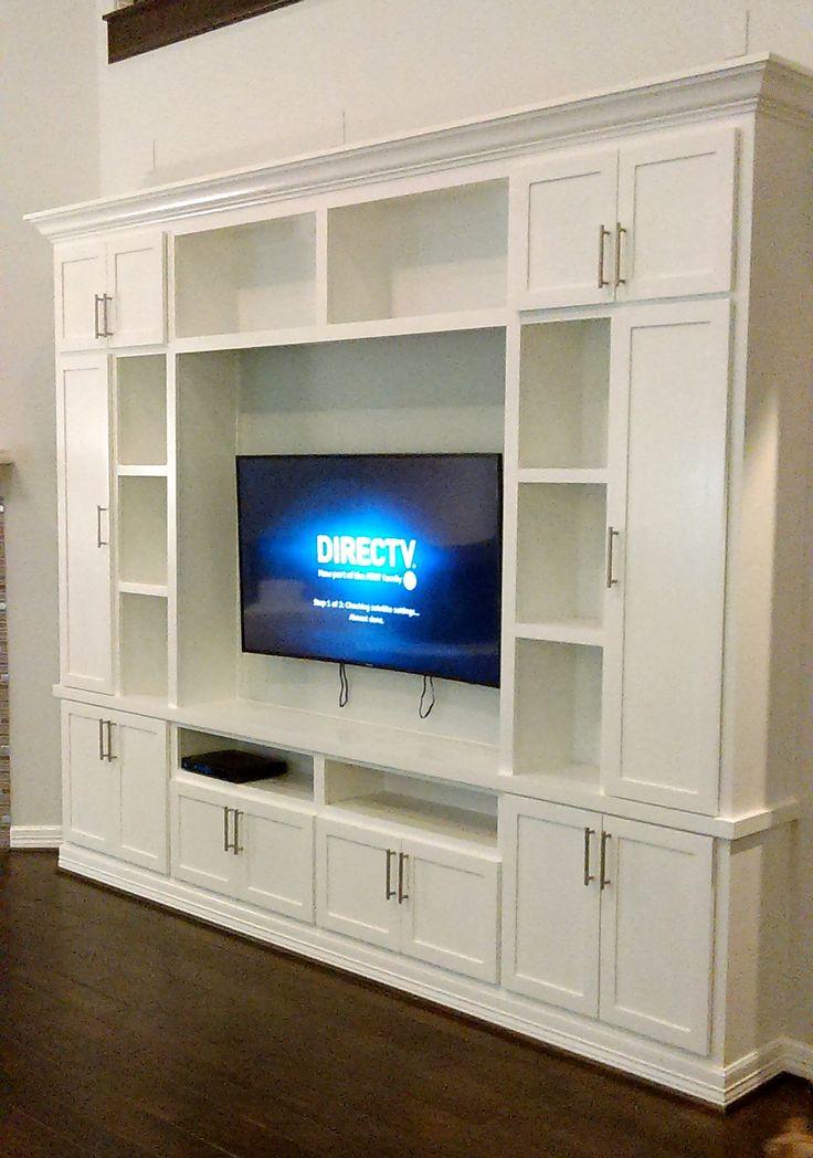17 best ideas about custom entertainment center on pinterest built in entertainment center. Black Bedroom Furniture Sets. Home Design Ideas
