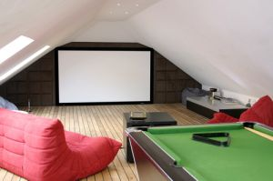 cool conversion for an attic