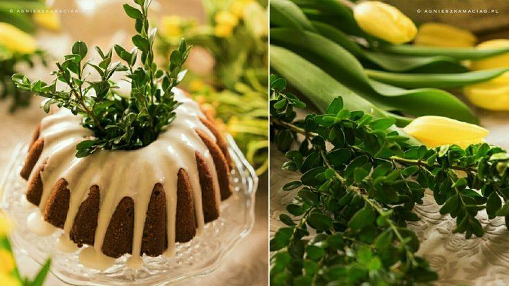 Babka Wielkanocna z cytrynowym lukrem – genialna!
