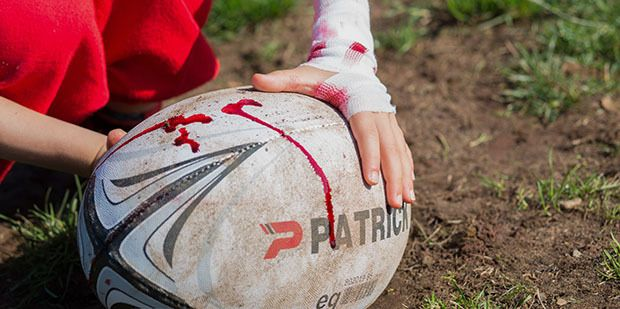Rugby - take away the ball and you have groups of men having a fighting, forceful brawl - put the ball back in and we call it sport - read more about the grim reality of this game. http://bit.ly/2vR2cku?utm_content=buffer7913d&utm_medium=social&utm_source=pinterest.com&utm_campaign=buffer   #rugby #sport #UnimedLiving