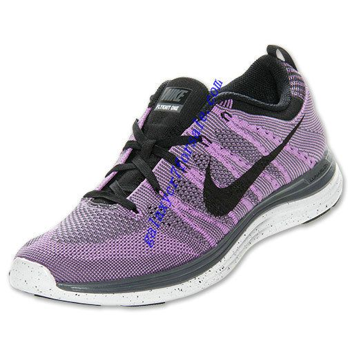 Buy Nike Flyknit Lunar 1 Review Shoes Mens Atomic Purple Black White 554887  501