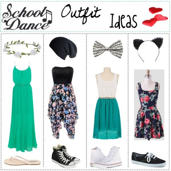 Junior High: School Dance Outfit Ideas//Angelisa by lol-icons-and-tips on Polyvore featuring Oasis, Converse, Keds, Tkees, Accessorize, perfectpic and loliconsandtips