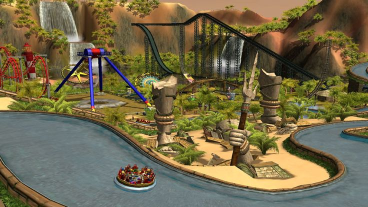 RollerCoaster Tycoon Wallpapers