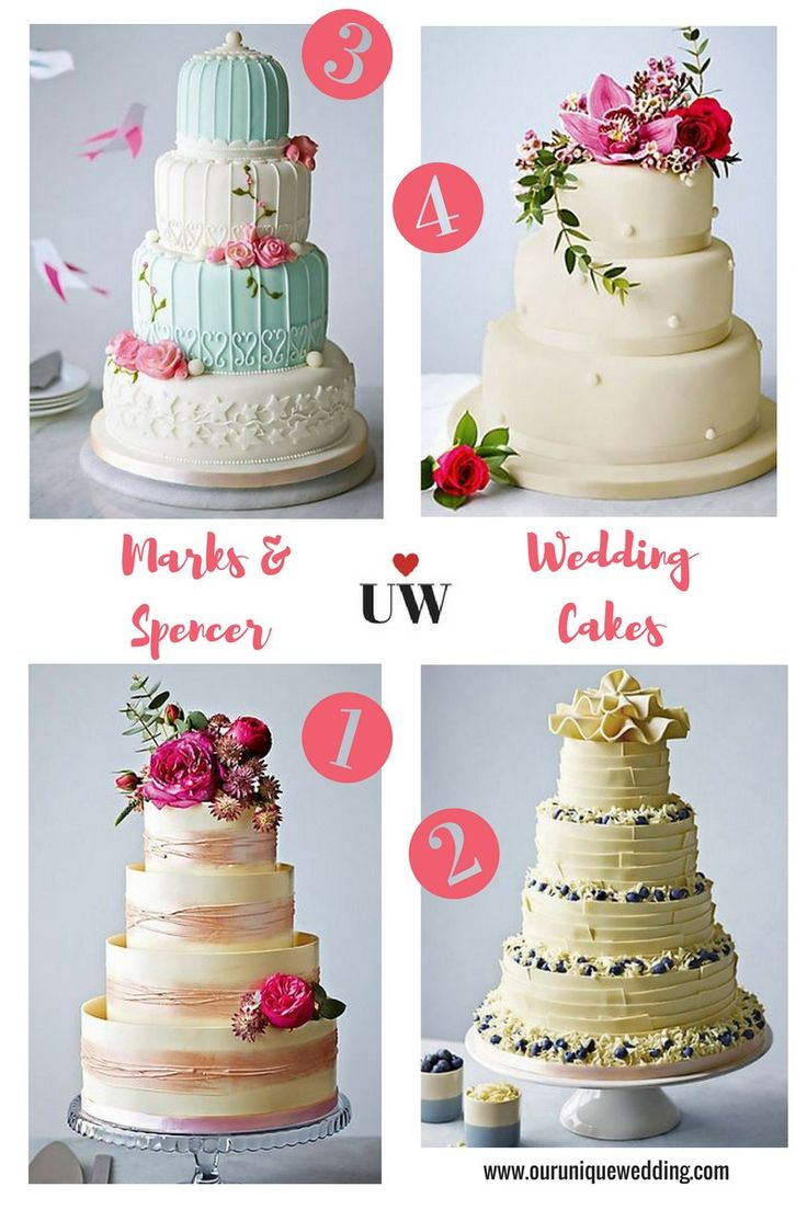 High Street Wedding Cakes - Marks