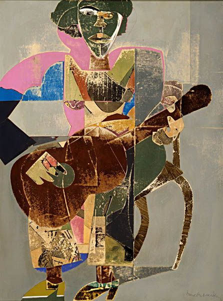 Romare Beardon. Master of Collage. Recommended by Andrea Beaty, author of Artist Ted.