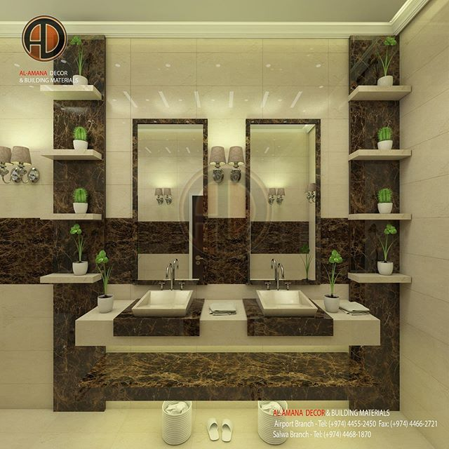 New The 10 Best Home Decor Ideas Today With Pictures تصميم لأحد العملاء رخام كريما مارفل Small Bathroom Makeover Room Wall Colors Wash Basin