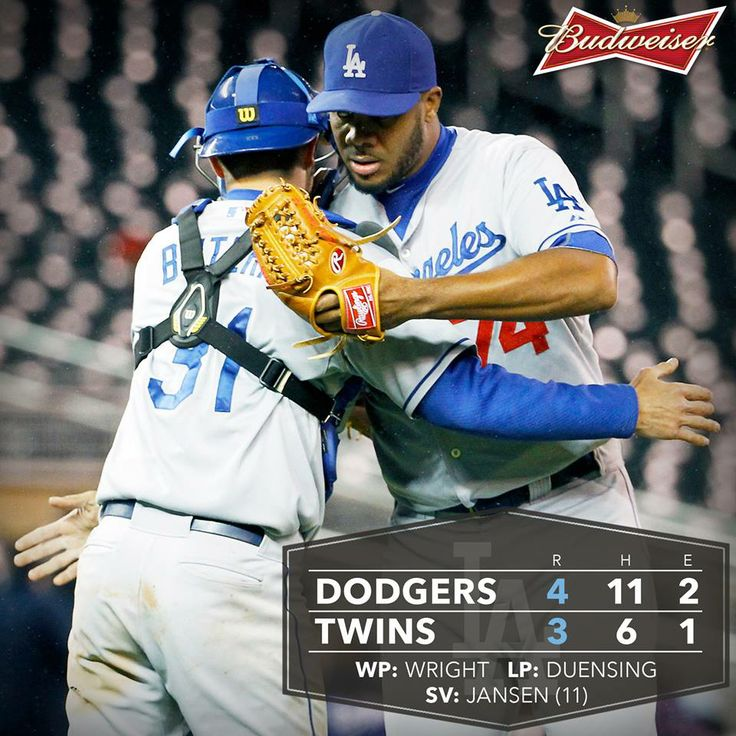 5/1/14 2nd of double header Dodgers, Baseball, Major
