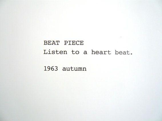 Yoko Ono, Beat Piece