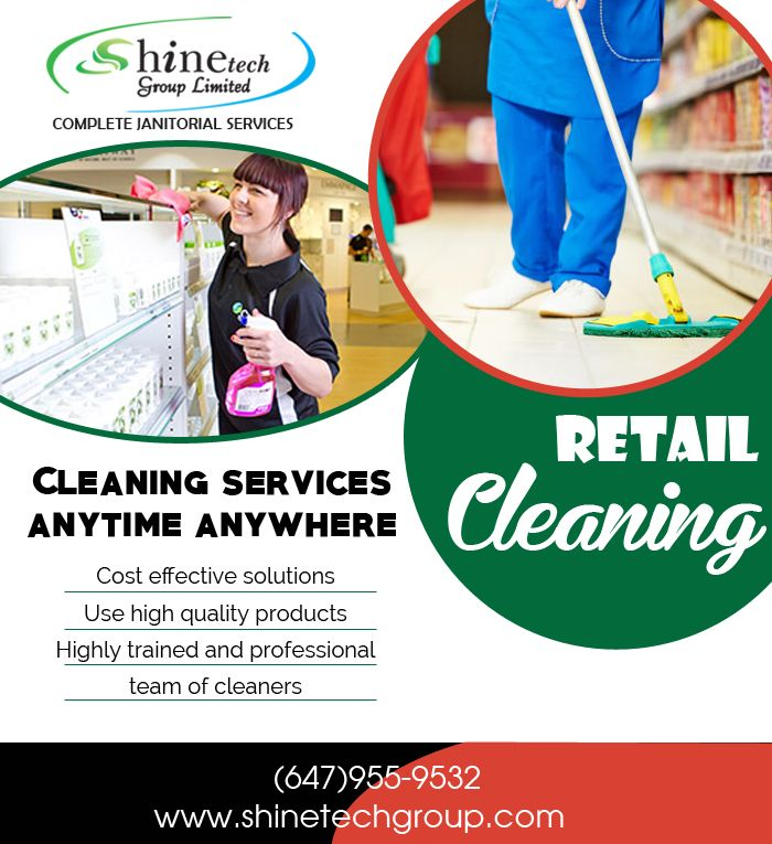 #Retail_Cleaning_Services_Toronto Retail Cleaning Services need to be cleaned several times during the day to maintain a presentable appearance, in order to attract customers.