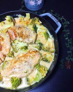 Heute habe ich das meistaufgerufene Rezept von meinem Blog gekocht...Hähnchenbrust in Brokkoli-Senf-Sahnesauce...und es ist immer noch lecker, ganz einfach und schlicht #lowcarb #rezeptaufdemblog #igers#igersgermany #instafood #foodporn #foodblogger_de #foodstagram #foodie#foodlover#abendessen #feedfeed#brokkoli#senf#sahne#hähnchenbrust #yummy#lecker#madeinstaub @staub_de #cooking#kochen#beliebt