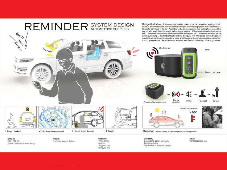 Reminder system design