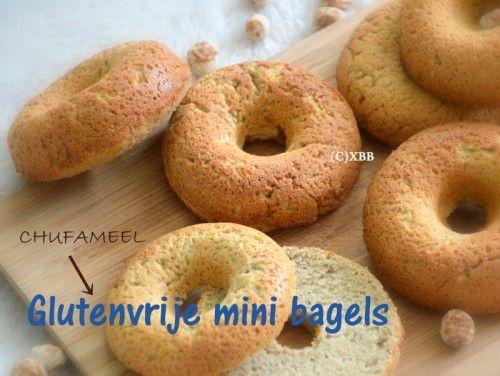 Glutenvrije mini bagels, recept Xandra bakt brood.nl