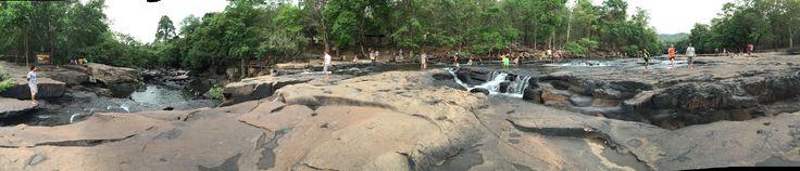 Tatton Waterfall Chaiyaphum country