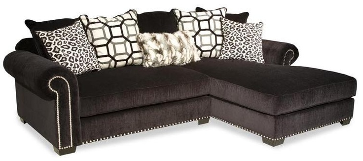 Monterey Combo Two Piece Sectional Sofa By Ej Lauren