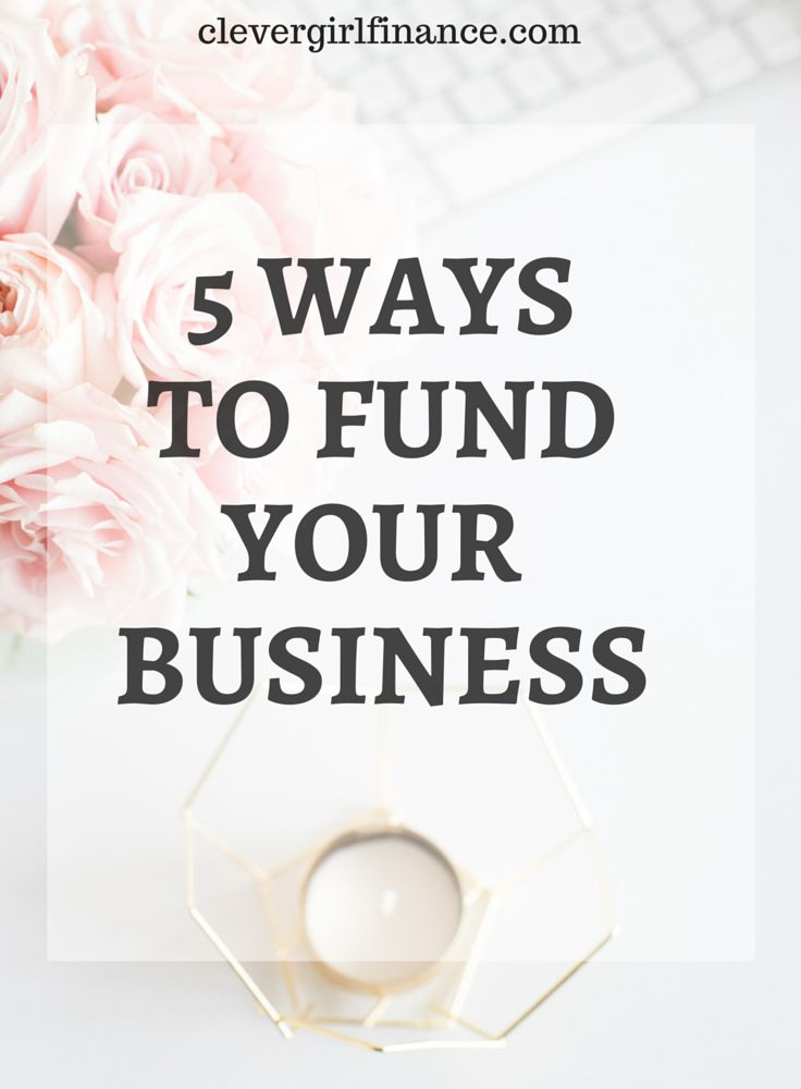 How to fund your business or how to raise capital to start a business is a question I get asked often. Business funding can get complicated but in this blog post I explain 5 key ways! Click to read.