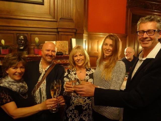 LCBNZ Chef Ambassadors Julie Biuso and Robert Oliver with Annabel Langbein and friends at the Gourmand event in Frankfurt in October 2012!