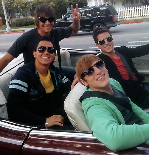 James Maslow  Carlos Pena Jr  Kendall schmidt  Logan Henderson THE CITY IS OURS VIDEOOOOOOO