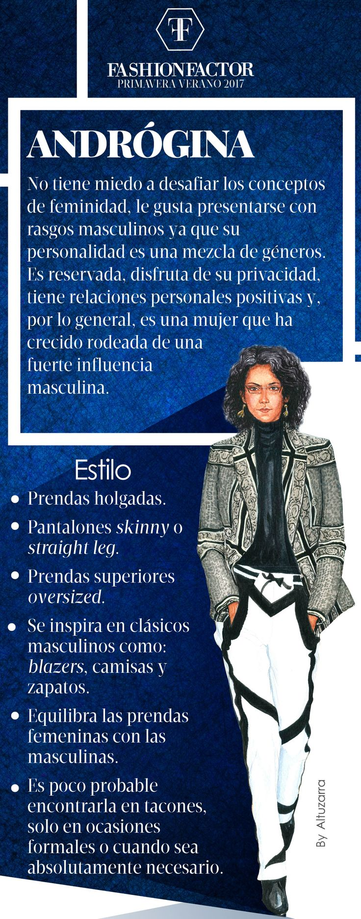 Estilo Andrógina - Identifica tu estilo - Fashion Factor Revista Digital