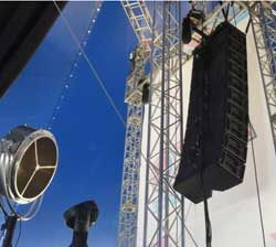 Turbosound Flashline Goes Wireless At Olympic Park