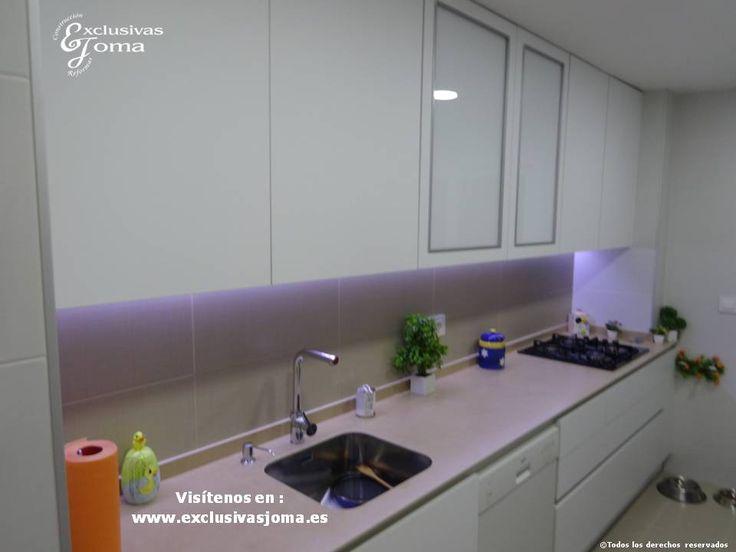 Reforma de cocina integral en sector embarcaciones en tres cantos azulejos de la firma saloni - Azulejos saloni ...