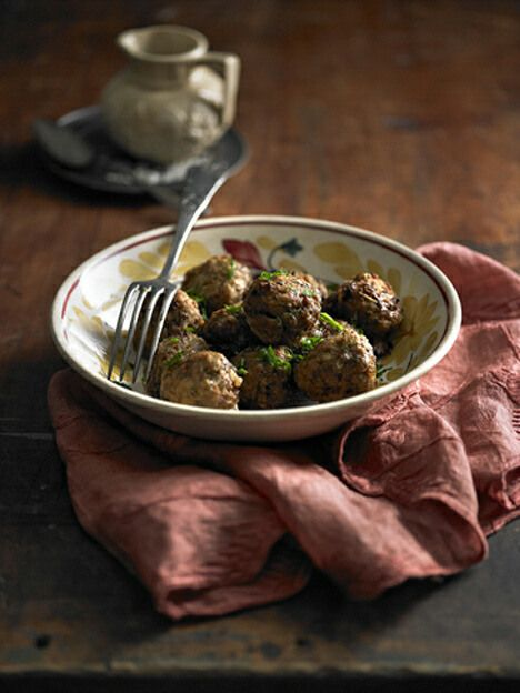 Sweet Onion Meatballs - I Quit Sugar