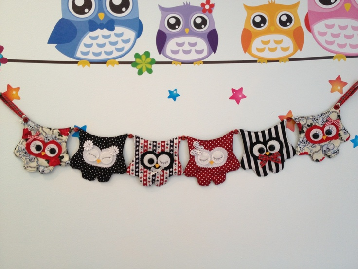 Funky Hoot Bunting ❤❤❤