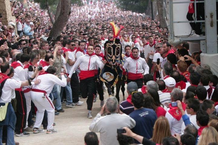 Carrera de los Caballos del Vino. Caravaca de la Cruz. Murcia. España.