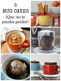 Cuuking! Recetas de cocina: 5 mug cakes ¡Que no te puedes perder!