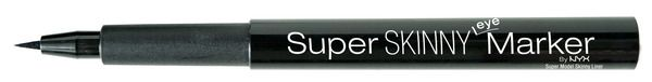 NYX Cosmetics Super Skinny Eye Marker...use everyday for work in the Houston heat.